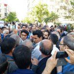 تصاویری از حاشیه های برگزاری راهپیمایی روز کارگر در تهران!
