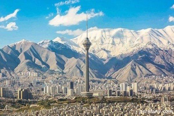 پیشبینی هواشناسی از وضعیت هوای تهران و وزش باد شدید