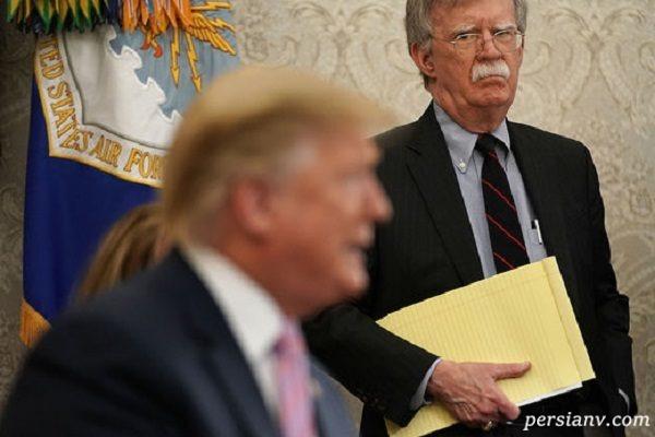 اختلاف ترامپ و بولتون بر سر حمله به کشورمان !!!