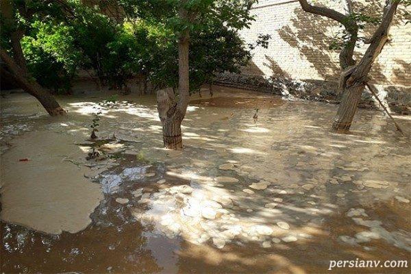 بارش شدید باران در اصفهان