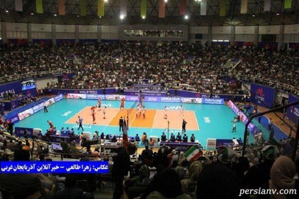 بازیکنان والیبال استرالیا به آبگرم های سرعین رفته اند