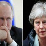 تفاوت چهره نخست وزیر انگلیس در ملاقات ترزا می و پوتین سوژه شد!!