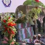 مراسم باشکوه تشییع پیکر شهدای دفاع مقدس در تهران
