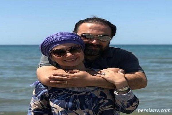 تولد پارمیس زند و تبریک عاشقانه بهار و برزو ارجمند + تصاویر