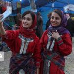 تصاویری بسیار زیبا از جشنواره بهار روستا در آذرشهر گلستان