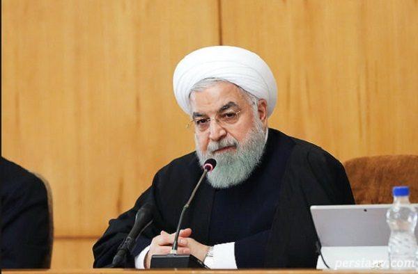 روحانی در جلسه هیأت دولت :مردم نسبت به یک سال قبل امیدوارترند!!