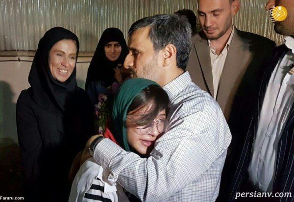ادعای جنجالی همسر داوری مشاور احمدی نژاد درباره یک پرستو!