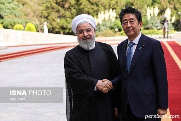 حاشیه های دیدار روحانی و شینزو آبه در تهران! + تصاویر