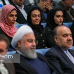 دیدار صمیمانه روحانی با ورزشکاران و قهرمانان ملی + تصاویر