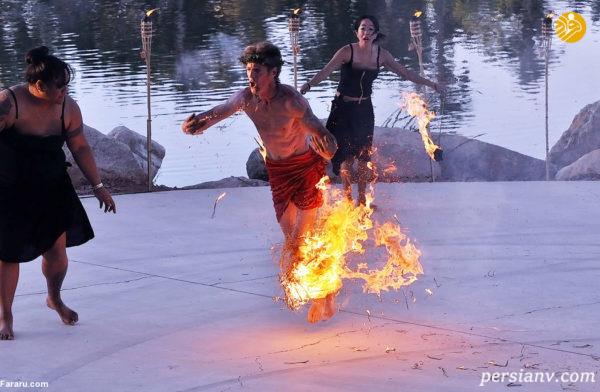 رقص با آتش