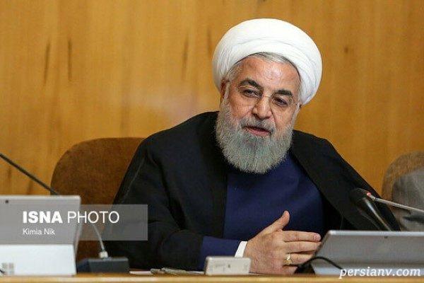 روحانی در جلسه هیأت دولت