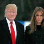 سوژه شدن روسری ملانیا همسر رئیس جمهور آمریکا!! + تصاویر