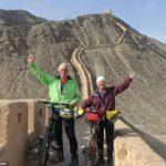 هیجانات زندگی یک زوج دوچرخه سوار! + تصاویر