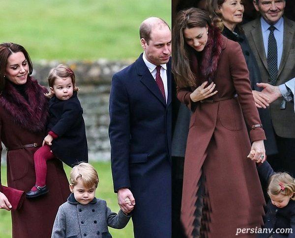 شاخ و شونه کشیدن شاهزاده انگلیس و همسرش برای همدیگر در مراسم