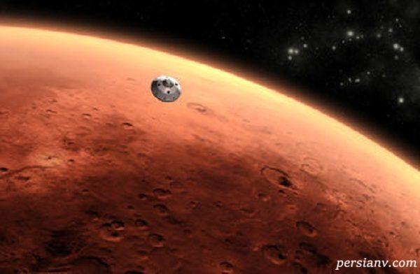 تصویری از کشف یک علامت عجیب روی سیاره مریخ !
