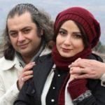 سامان سالور و همسرش در کنار میترا حجار