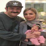 جدیدترین عکس مهران غفوریان و دخترش هانا با چهره ای متعجب!!