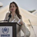 عکس های جدید آنجلینا جولی در دیدار با پناهجویان ونزوئلایی