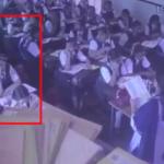 ویدیوی هولناک از فرو ریختن دیوار و سقف مدرسه