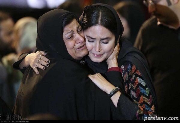 مادر شهیدان فائزه و شهاب منصوری