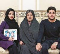 روایت تلخ مادر شهیدان فائزه و شهاب منصوری قربانیان فیلم شبی که ماه کامل شد + فیلم
