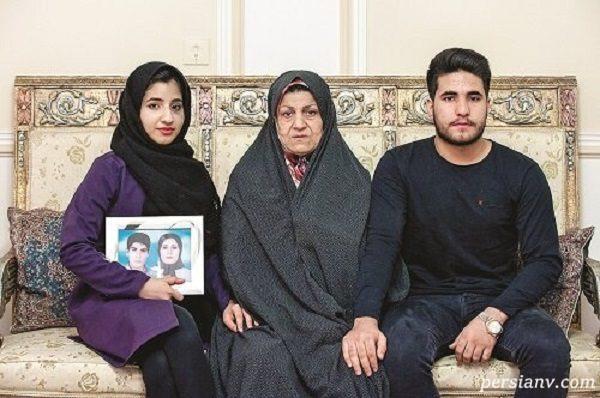 روایت تلخ مادر شهیدان فائزه و شهاب منصوری قربانیان فیلم شبی که ماه کامل شد