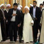 مراسم بزرگداشت ارتحال امام خمینی(ره) با حضور علما در قم + تصاویر