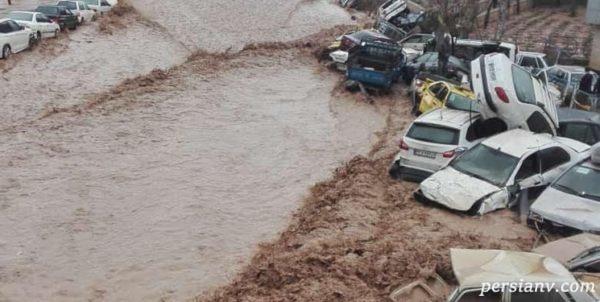 حادثه سیل دروازه قرآن شیراز
