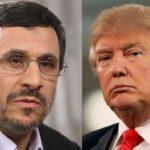 نامه احمدی نژاد به ترامپ بعد از اعمال تحریمهای جدید!