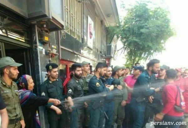 هواداران معترض پرسپولیس