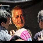 مراسم ترحیم پرویز بهرام صداپیشه معروف با حضور هنرمندان + تصاویر