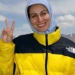 پویه مهدوی نادر بانوی جهانگرد دوچرخه سوار ایرانی