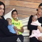 تعطیلات لاکچری کریس رونالدو و خانواده اش در جنوب فرانسه
