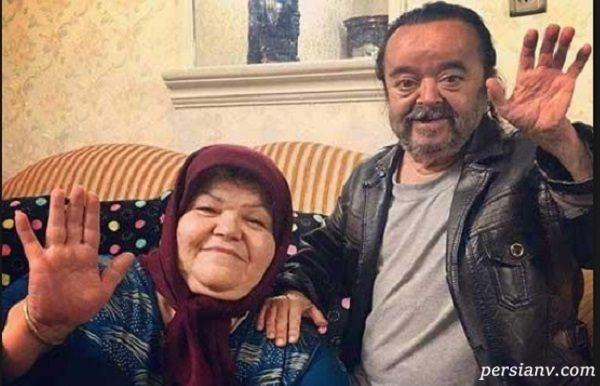 اسدالله یکتا بازیگر ایرانی پسران واقعی اش را رو کرد!!