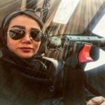 اولین زن خلبان بالگرد ایرانی و سوال عجیب مجری تلویزیونی از او!!