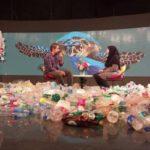 برنامه سلام صبح بخیر با دکوری عجیب و در میان آشغال ها!!