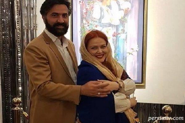 بهاره رهنما و همسرش امیر خسرو در کنسرت ترانه های قدیمی