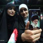 تصاویری از تجمع دختران انقلاب در تهران