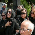 حواشی مراسم تشییع ناصر هوشمند وزیری در خانه هنرمندان