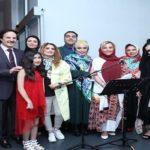 جشن تولد مانی رهنما با حضور همسرش صبا راد و هنرمندان