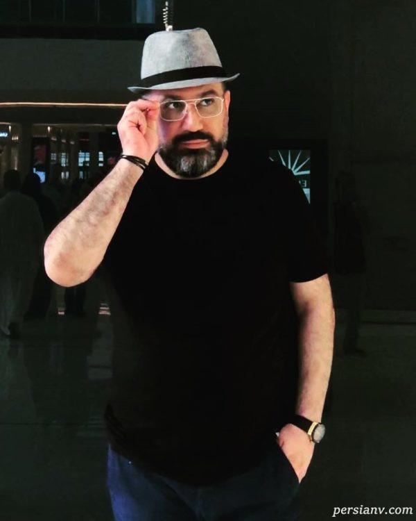 تیپ جدید رضا رشیدپور
