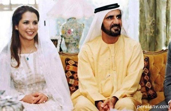 فرار همسر حاکم امارات