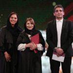رونمایی از همسر دوم حمید گودرزی در جشن حافظ + طعنه فرزاد حسنی به او