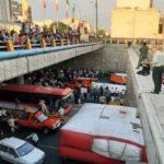 خودکشی دختر جوان در بزرگراه امام علی و منصرف شدنش با تلاش پلیس!!