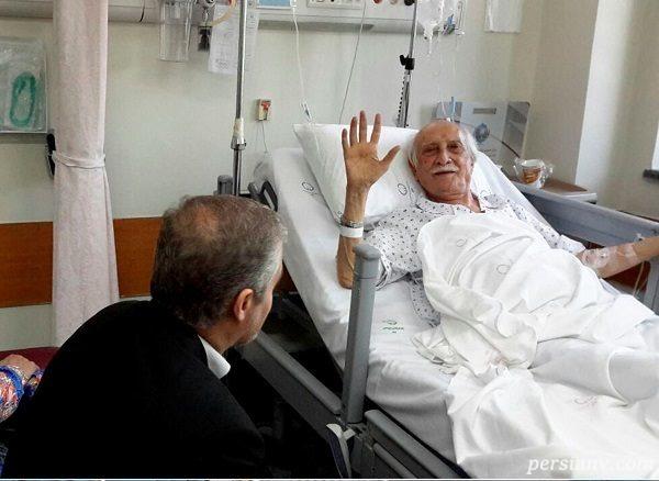 پیام داریوش اسدزاده بازیگر سینما از بیمارستان برای طرفدارانش
