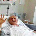 عیادت مسعود ده نمکی از داریوش اسد زاده در بیمارستان!