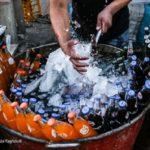 علی تگری مرد یخی روزهای داغ و آفتابی خوزستان