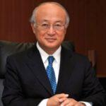 یوکیا آمانو رئیس آژانس انرژی اتمی درگذشت!!