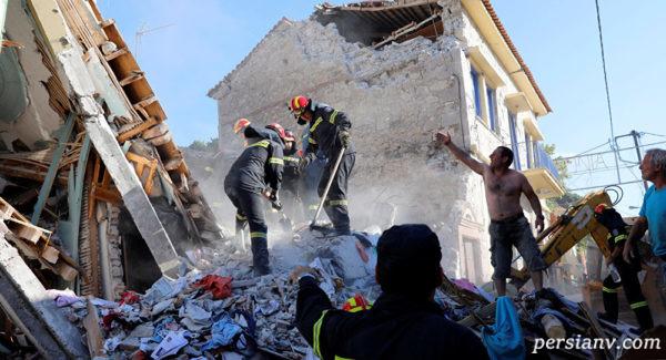 زلزله یونان