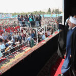 سفر روحانی به خراسان شمالی و سخنرانی او در جمع شیروانی ها
